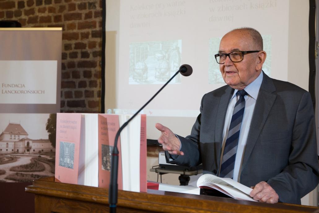 Dyrektor Ossolineum dr Adolf Juzwenko