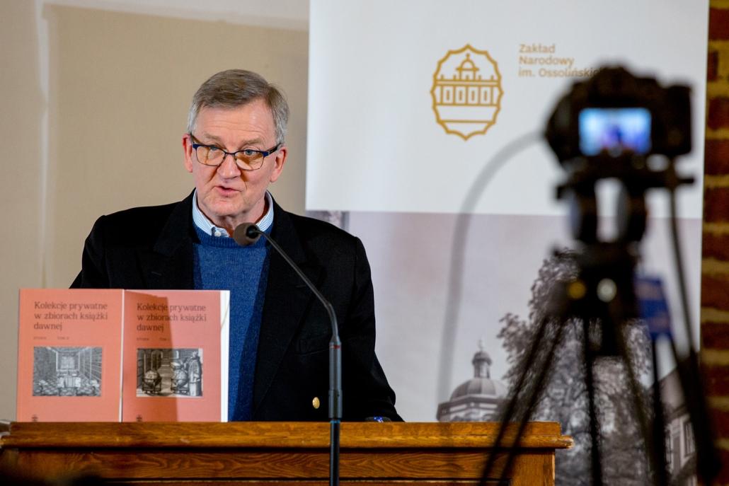 Prezes Fundacji Lanckorońskich Piotr Piniński