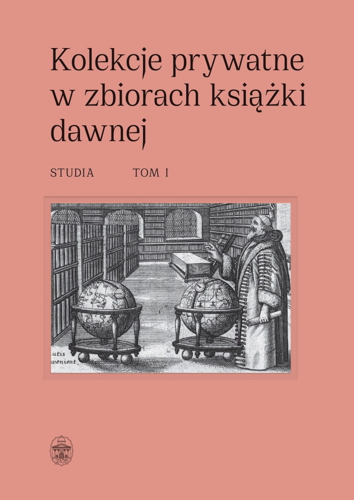 Kolekcje prywatne w zbiorach książki dawnej t1