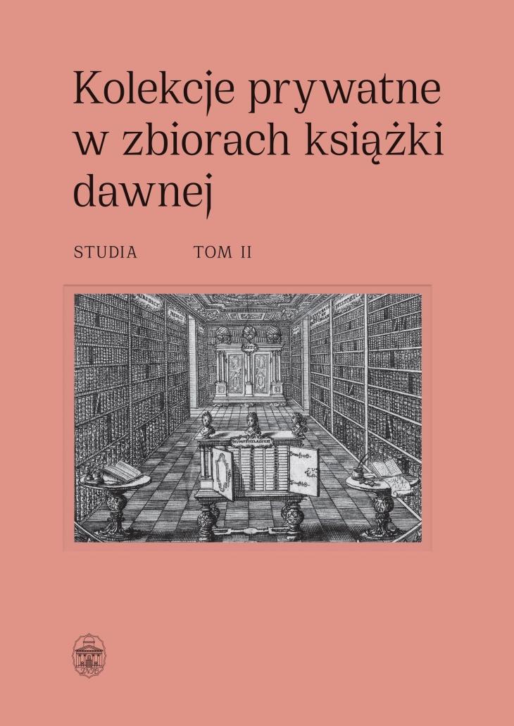 Kolekcje prywatne w zbiorach książki dawnej t2